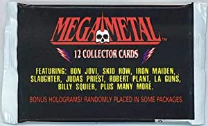 Mega Metal Collector Cards Pack