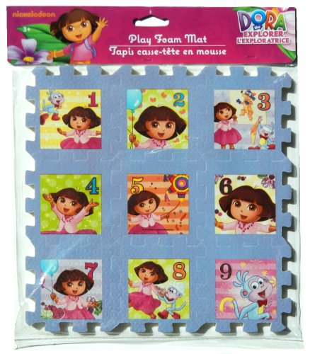"Dora the Explorer Foam 9""x9"" Puzzle - 1"