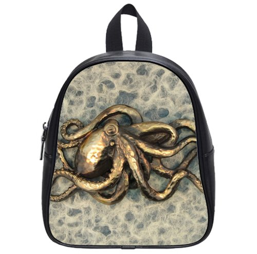 hot sale Garden octopus.1280 Custom Kids School Backpack Bag(Small) shop treasure