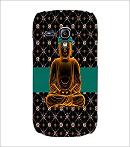 PrintDhaba Lord Mahavir D-2986 Back Case Cover for SAMSUNG GALAXY S3 MINI (Multi-Coloured)
