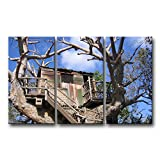 3 piece Wall Art Painting Disney Disneyland Disneyland Island Treehouse Pictures Prints On Canvas Landscape The Picture Decor Oil For Home Modern Decoration Print