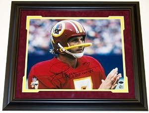 Joe Theismann Autographed Hand Signed Washington Redskins 16x20 Photo - with SB XVII... by Real Deal Memorabilia