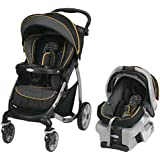 Graco Stylus Travel System with Classic Connect SnugRide Flare, Black