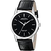 Armand Nicolet Men's L10 Limited Edition Stainless Steel Classic Hand Wind Watch (9670A-NR-P670NR1)