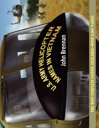 U.S. Army Helicopter Names in Vietnam [Brennan, John] (Tapa Blanda)
