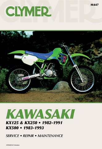 Clymer Publications Manual Kaw Klr650 87-07 Manuals & Videos- M474-3