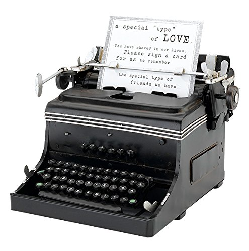 Lillian Rose 1945 Mini Typewriter, 10 by 9.75 by 6.5-Inch (Typewriter Vintage compare prices)