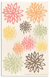 Martha Stewart Crafts Stickers Glittered Fall Chrysanthemum By The Package
