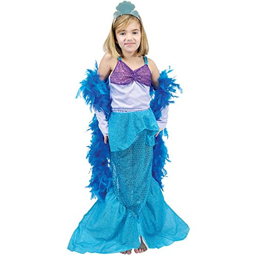 Girl's Little Mermaid Princess Costume (Size: X-Small 4-6)