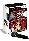 echange, troc X Factor + 2 Microphones (Wii) [import allemand]