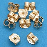 5 Pairs 14K Gold Filled Earring Backs Jewelry Ear Nuts