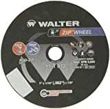 Walter ZIP Wheel High Performance Cutoff Wheel, Type 1, Round Hole, Aluminum Oxide, 7″ Diameter, 1/16″ Thick, 7/8″ Arbor, Grit A-30-ZIP (Pack of 25)