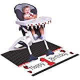 Creative Converting Ladybug Fancy First Birthday High Chair Kit