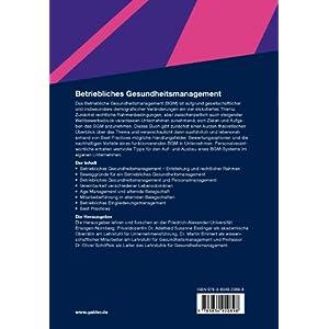 Betriebliches Gesundheitsmanagement: Mit gesunden Mitarbeitern zu unternehmerischem Erfolg (German E