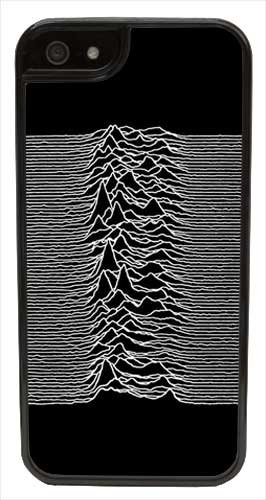 Cellpowercasestm Joy Division Unknown Pleasures Iphone 5 Case - Fits Iphone 5 & Iphone 5S (Black Case V2)