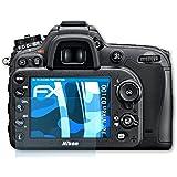 atFoliX Nikon D7100 Film protection d'écran Film protecteur - Set de 3 - FX-Clear ultra claire