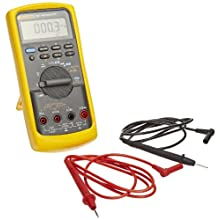 Fluke 787 Process Meter with Clear LCD and Backlight, 40 Megaohm Resistance, 1000V AC/DC Voltage, 30mA Current, 19.999 KHz Frequency