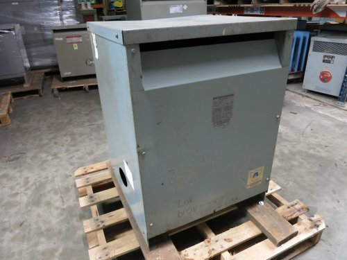 Acme Electric 75 Kva 240 X 480 To 120/240 1 Phase T-1-53021-3S Power Transformer