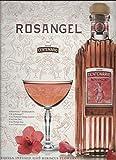 PRINT AD For 2009 Rosangel Centenario Tequila Margarita Recipe Scene