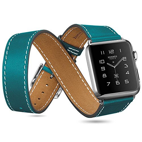 hoco-lederarmbander-fur-apple-watch-im-hermes-stil-3er-pack-braun-apple-watch-42mm
