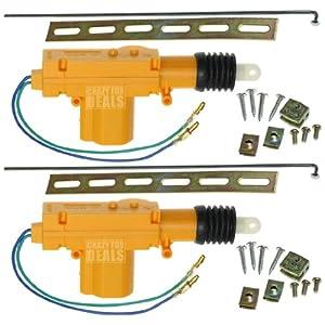 Universal car power door lock actuator 12 volt for 12vdc door lock actuator