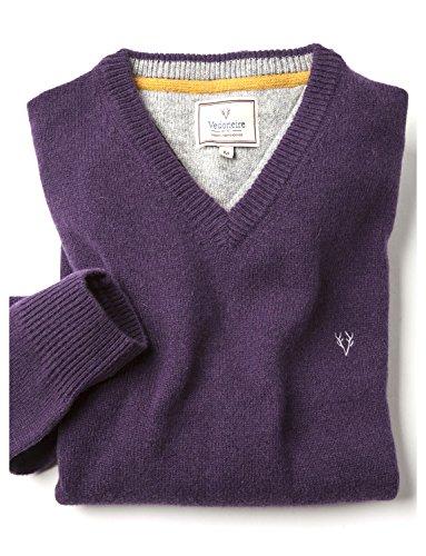 vedoneire-maglione-uomo-dark-purple-x-large