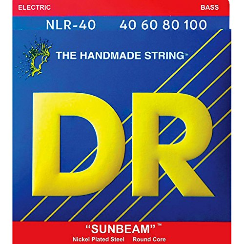 Dr Strings Sunbeam - Nickel Plated Round Core Bass 40-100
