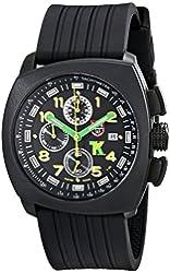 Luminox Men's 1101 Tony Kanaan Analog Display Analog Quartz Black Watch