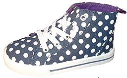 Carter\'s Angie-SC High Top Sneaker Toddler Girls (5, Navy/White)