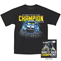 Jimmie Johnson 2013 NASCAR Championship Sprint Cup Champion Tee (medium)