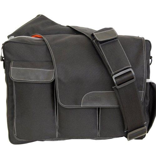 diaper dude messenger ii diaper bag black diaper bag nappy bags designer. Black Bedroom Furniture Sets. Home Design Ideas