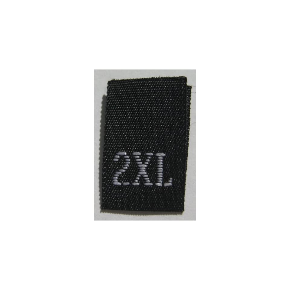 size 19 Nineteen clothing woven labels tags tab Qty 1000
