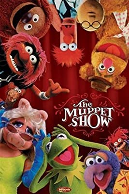 Muppet Show Jim Henson Kermit Classic TV Poster 24 x 36 inches