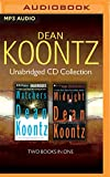 img - for Dean Koontz - Collection: Watchers & Midnight book / textbook / text book