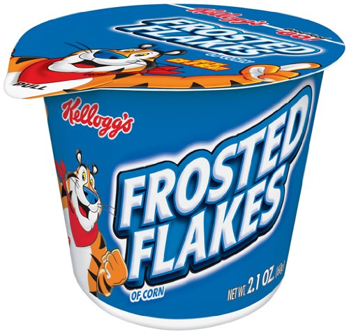 Frosted Frosted Flakes Cereal, 2.1-Ounce Cups (Pack of 60)