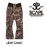 (エスケープ)SCAPE 2016年モデル scp-1633 パンツ ウイメンズ CELES PANTS LEAFCAMO 日本正規品 スノーパンツ L