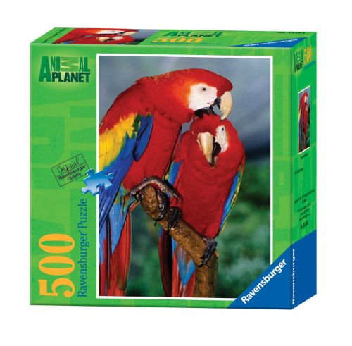 Ravensburger Animal Planet: Scarlet Macaw - 500 Pieces Puzzle