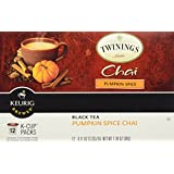 Twinings Keurig Brewed Black Tea Chai Pumpkin Spice -- 12 K-Cups