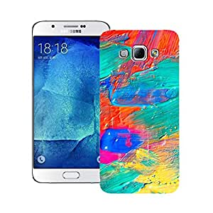 Zapcase Printed Back Case For Samsung Galaxy A8