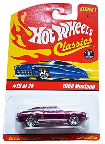 2005 Hot Wheels Classics Series 1 1968 Mustang Purple #19 of 25 - 1