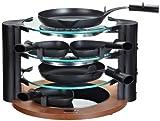 Maybaum RAC 500 Design-Glas-Raclette für 8 Personen