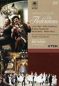 Johann Strauss - Die Fledermaus / Popp, Gruberova, Fassbaender, Weikl, Berry, Hopferwieser, Kunz, Guschlbauer, Vienna Opera