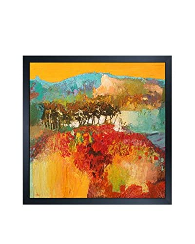 "Alex Bertaina ""Septembre"" Framed Print on Canvas"
