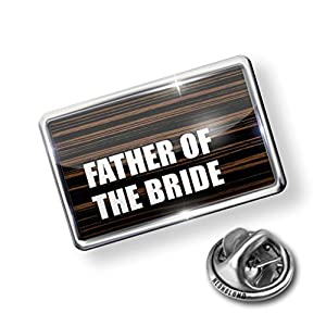 Pin Father of the Bride, Wedding - Lapel Badge - NEONBLOND