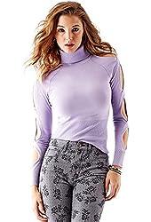 GUESS Women's Long-Sleeve Twist Cutout Pullover
