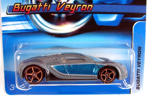 hot wheels 2006 144 bugatti veyron blue silver fte faster than ever 1 64 scal. Black Bedroom Furniture Sets. Home Design Ideas