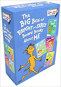 The little blue box of bright and early board books