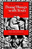 Doing Things With Texts (0393307476) by M. H. Abrams