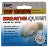 Flents Breathe Quiet! Nasal Dilator – Stop Snoring!