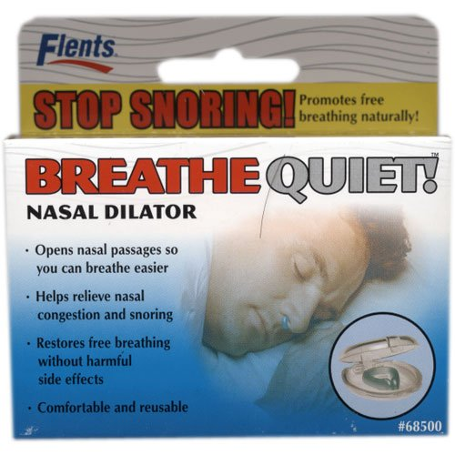 Flents Breathe Quiet! Dilatateur nasal - Stop ronflement!